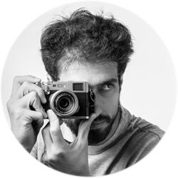 Le photographe Ilan Dehé