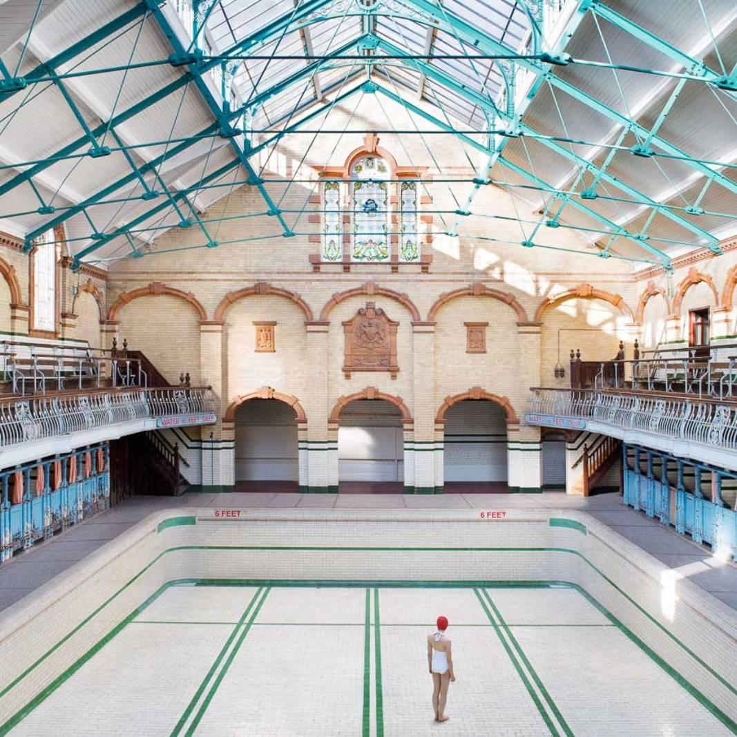 Alone in Manchester Victoria ©️ Soo Burnell