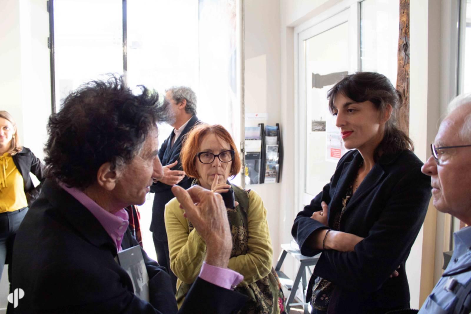 La photographe Karen Assayag et Jack Lang ©️ Marc Lavaud