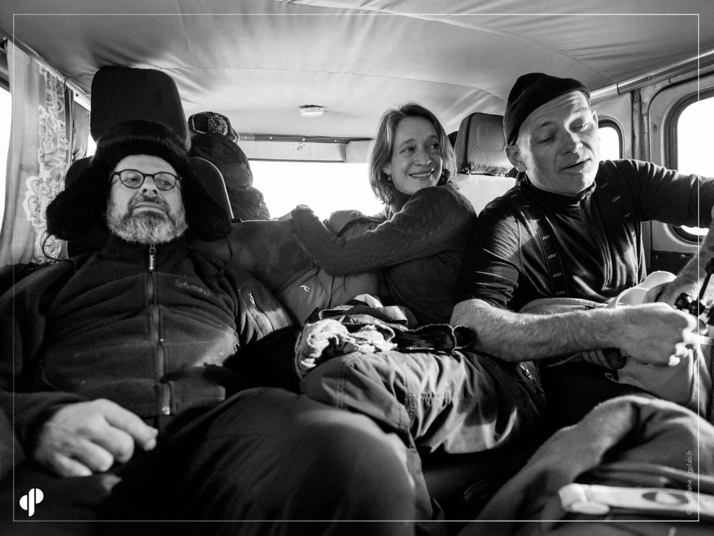 Christophe Rabinovici, Myriam Tirler et Philippe Deschamps  ©️ Ilan Dehé