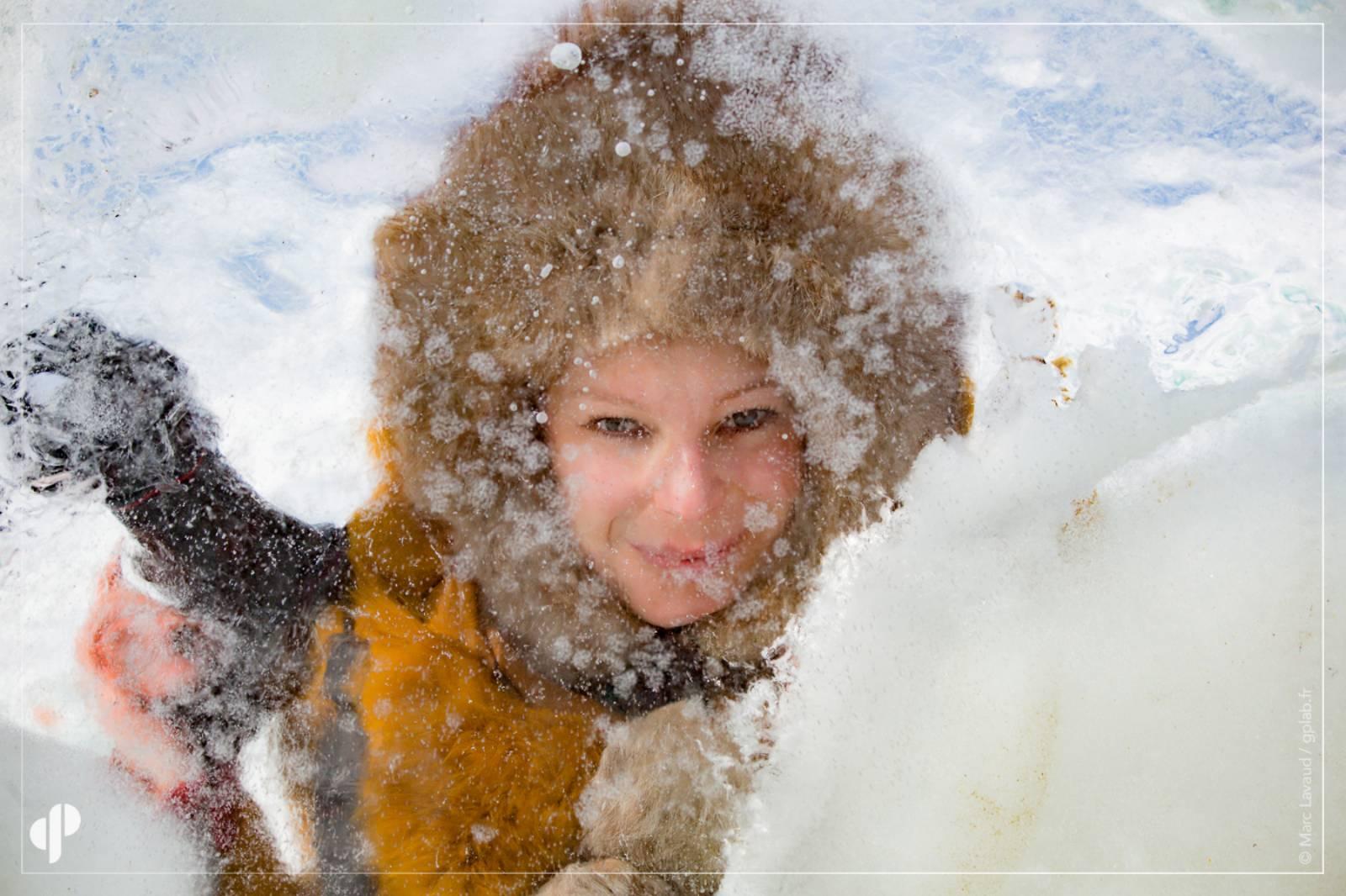 La photographe Natalya Saprunova ©️ Marc Lavaud