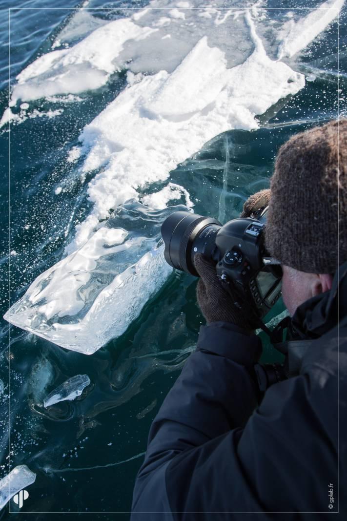 le photographe Eric Legrand avec un objectif sigma sur nikon