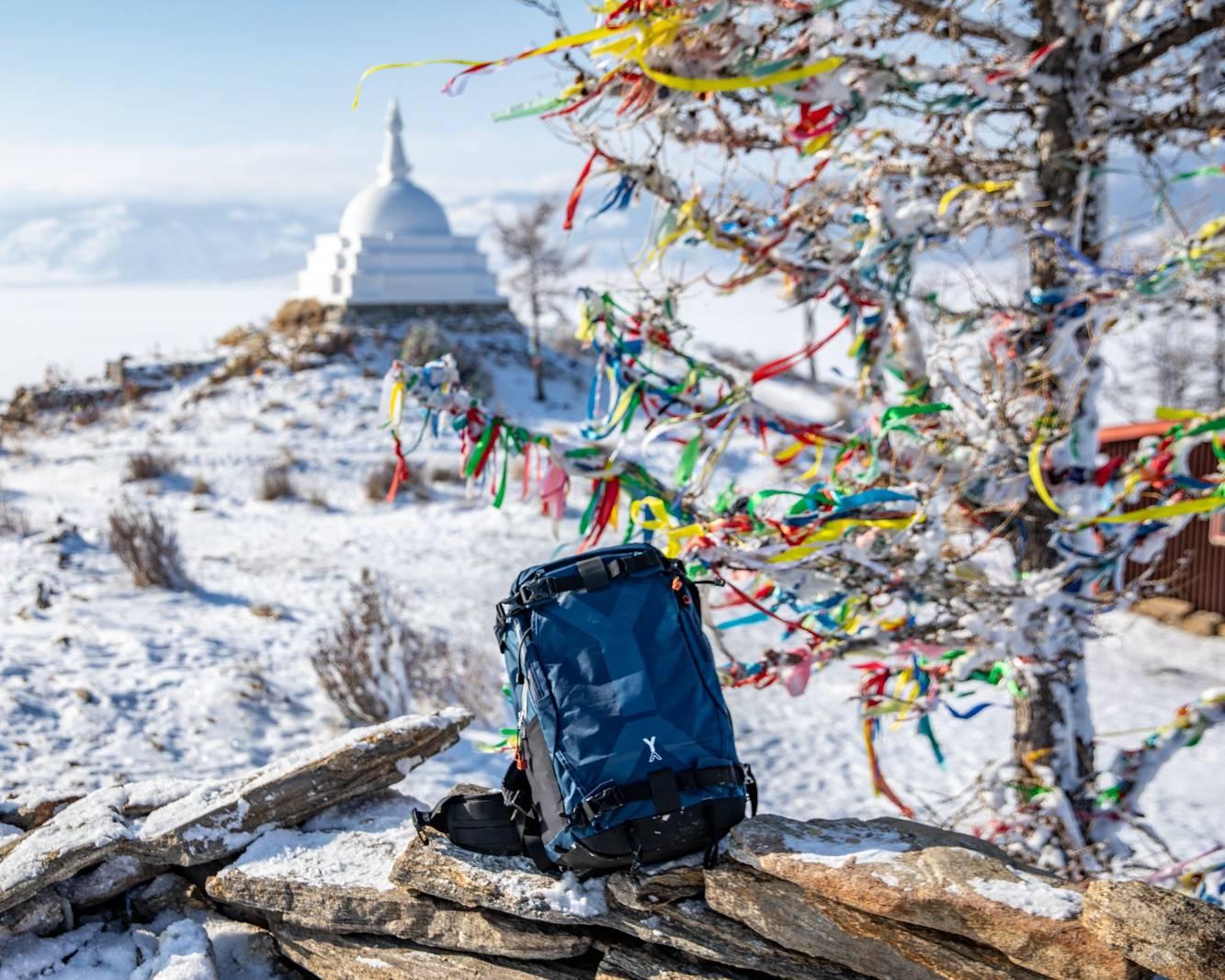 Carnet de voyage : Expédition au lac  Baïkal avec le sac NYA  EVO fjord 60