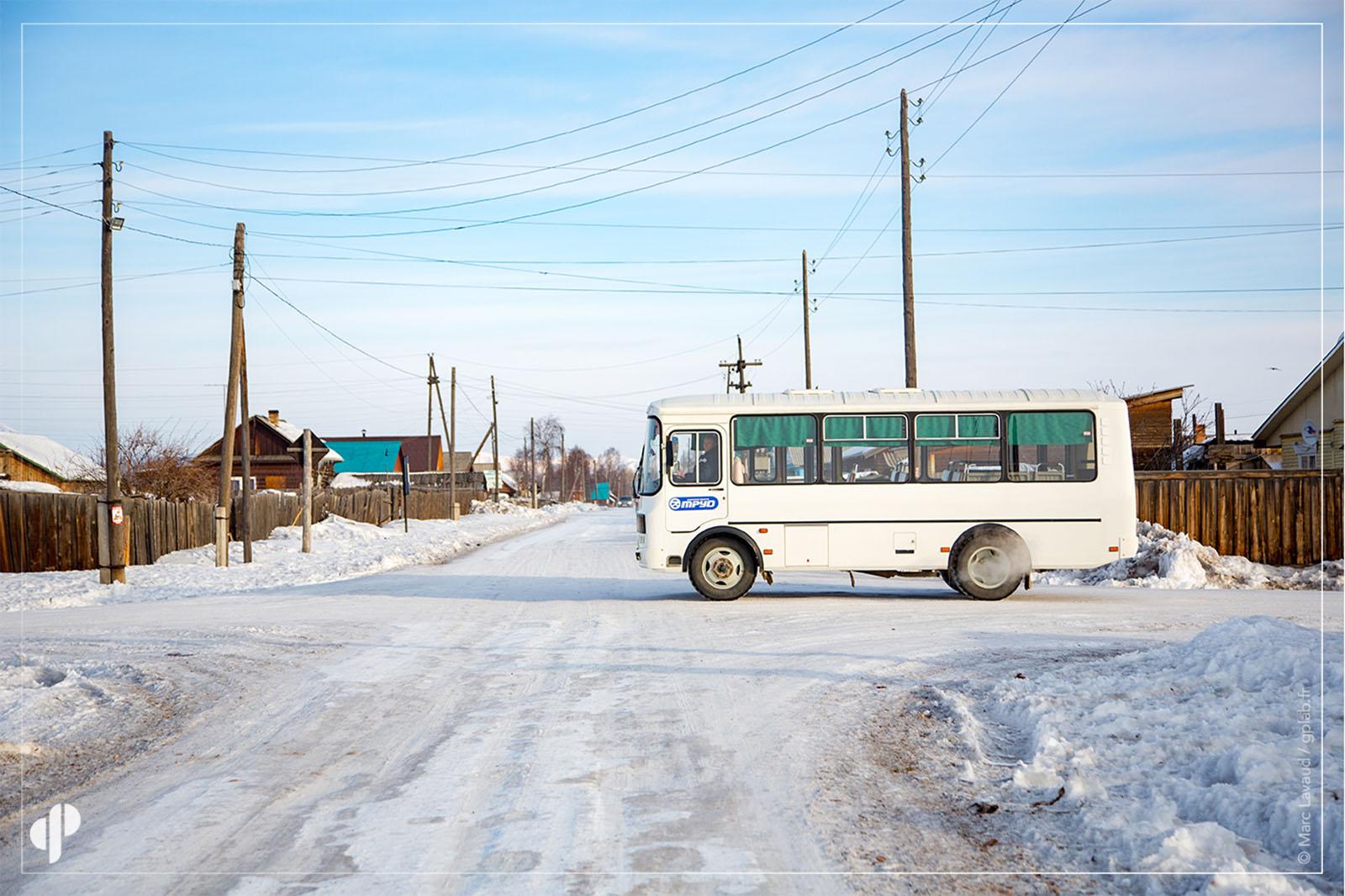 Voyage Baikal : Oust-Bargouzine