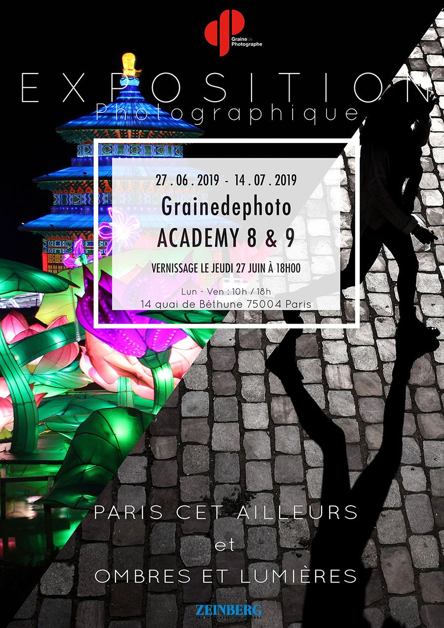 Exposition de la Grainedephoto Academy
