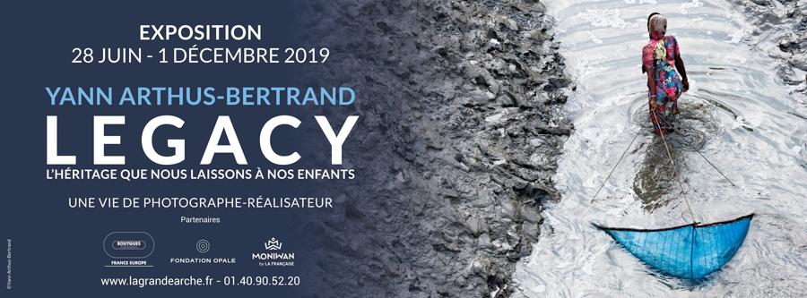 Exposition - Legacy, la vie de photographe-réalisateur de Yann Arthus-Bertrand