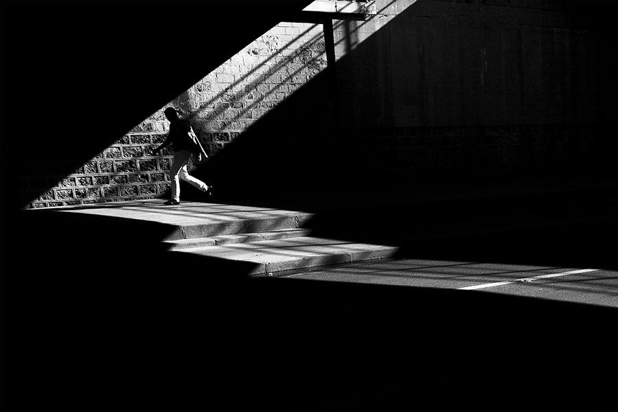 Le regard de Vincent Bourchot sur la photo de rue en noir et blanc