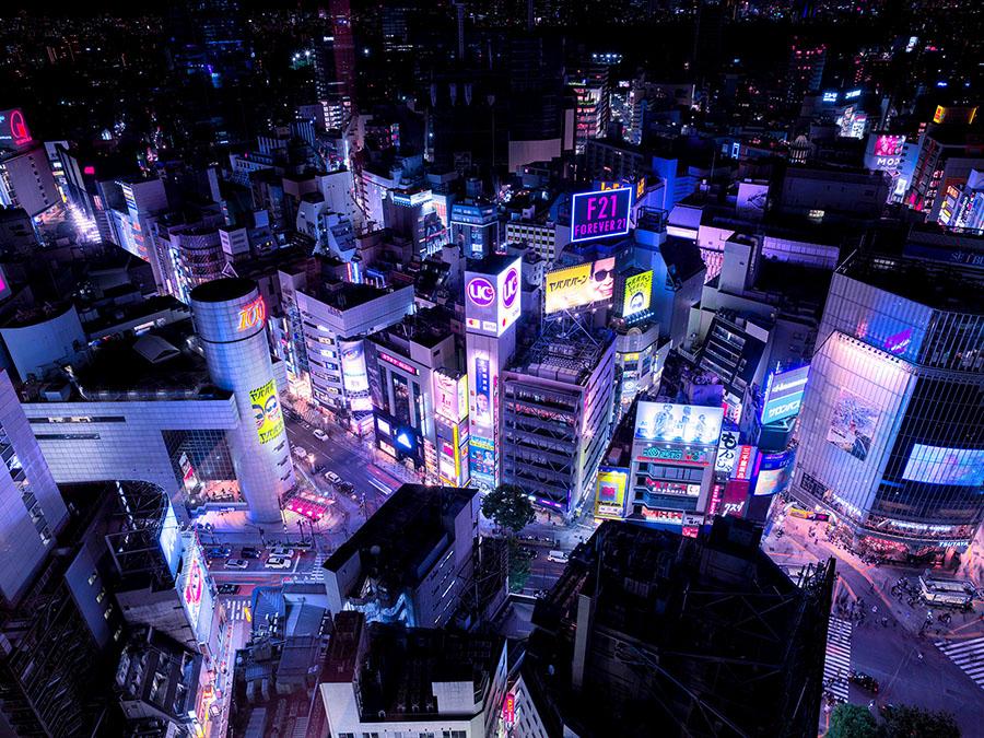 Neon Future une série à l'influence cyberpunk de Stefano Gardel